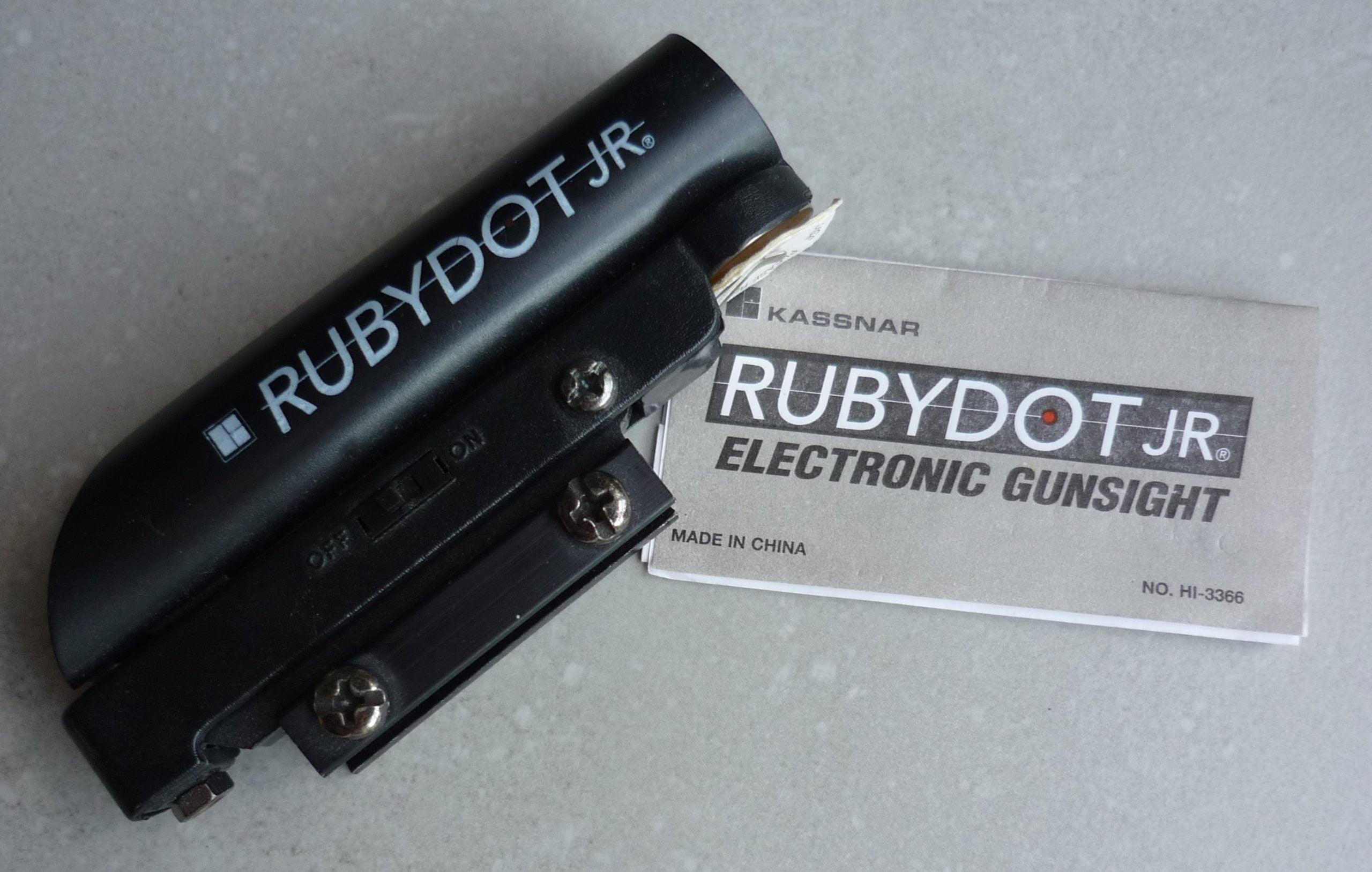 Système de visée point rouge Rubydot Jr Kassnar