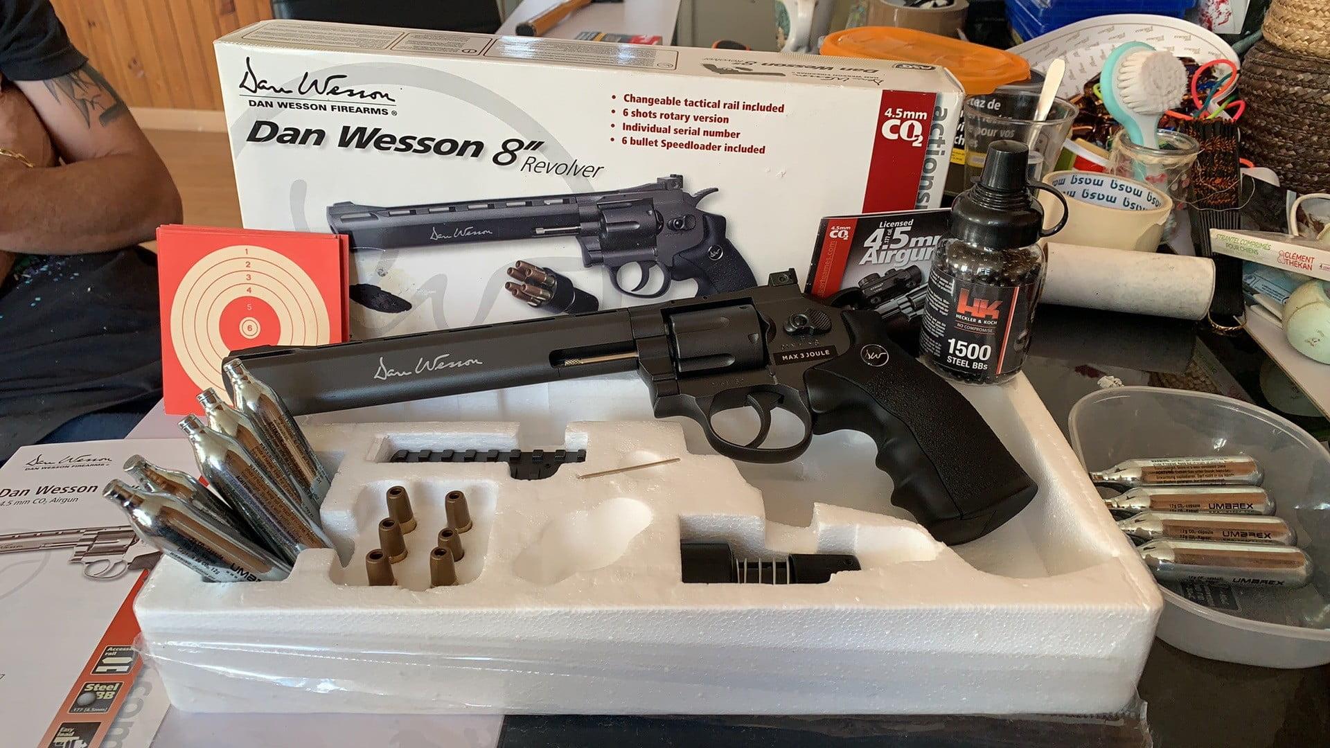 "Dan Wesson 8"""