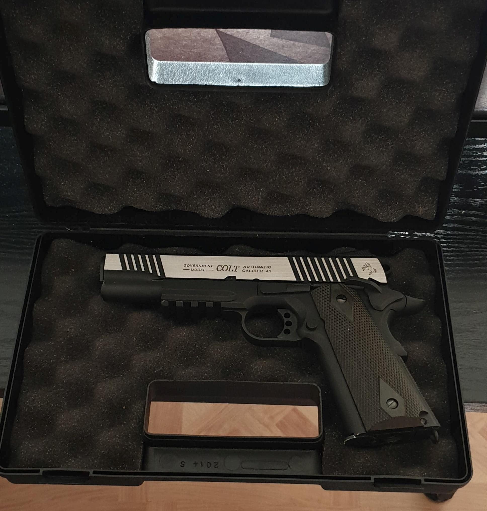 Colt 1991 Rail Gun CO²