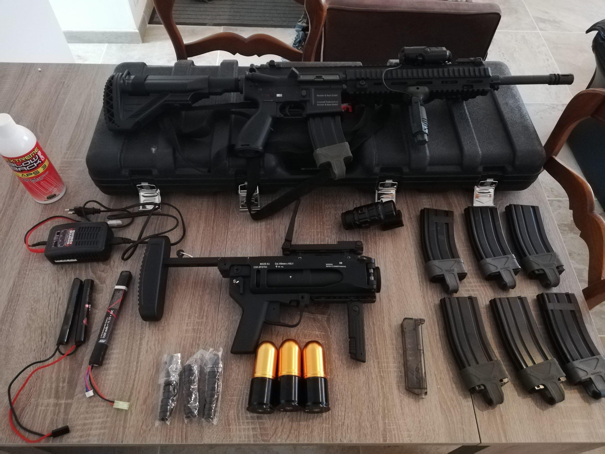 Vend HK M27 et LG M320