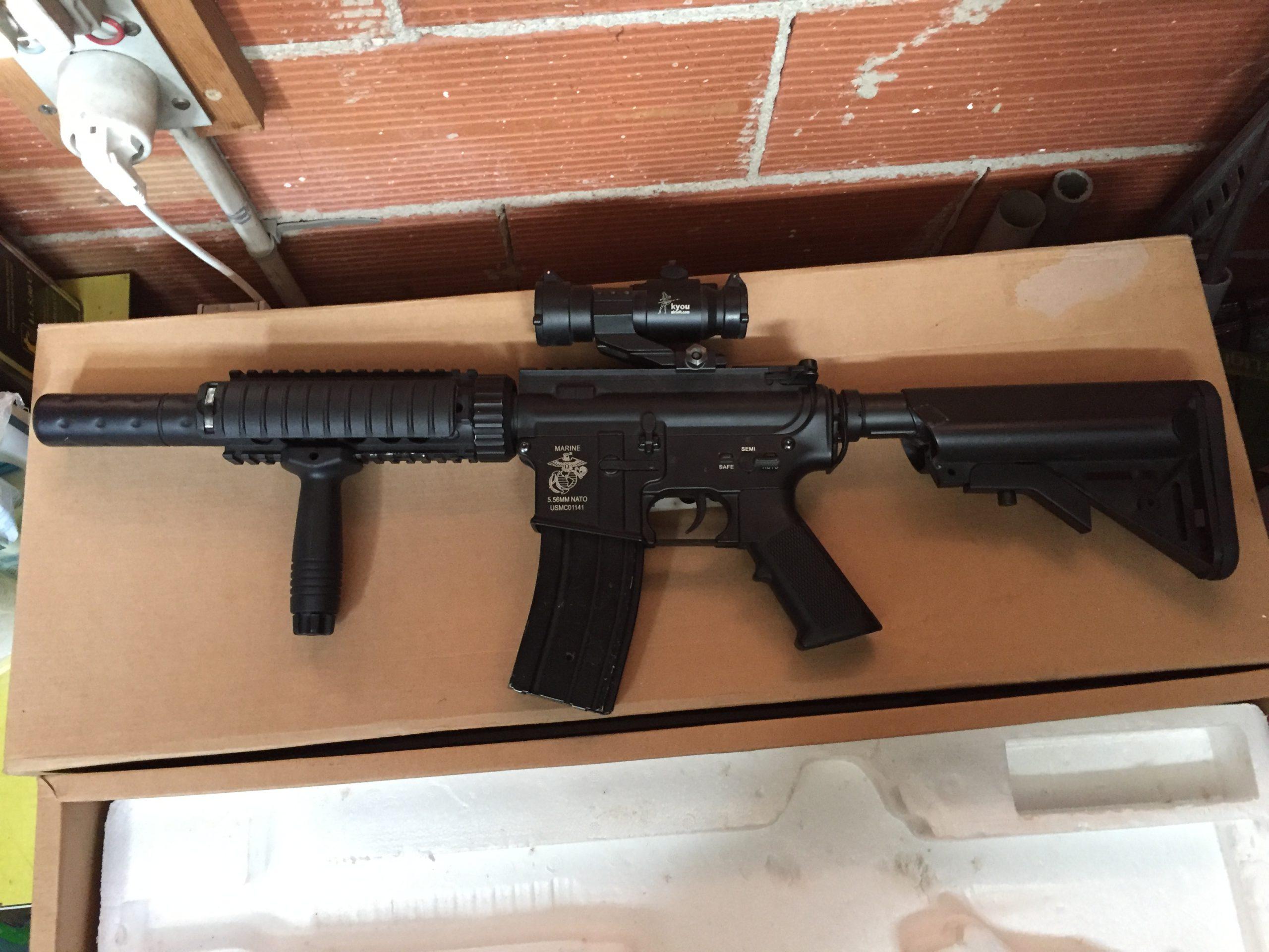 M4 D-Boys RIS SD CQB Metal AEG Rifle