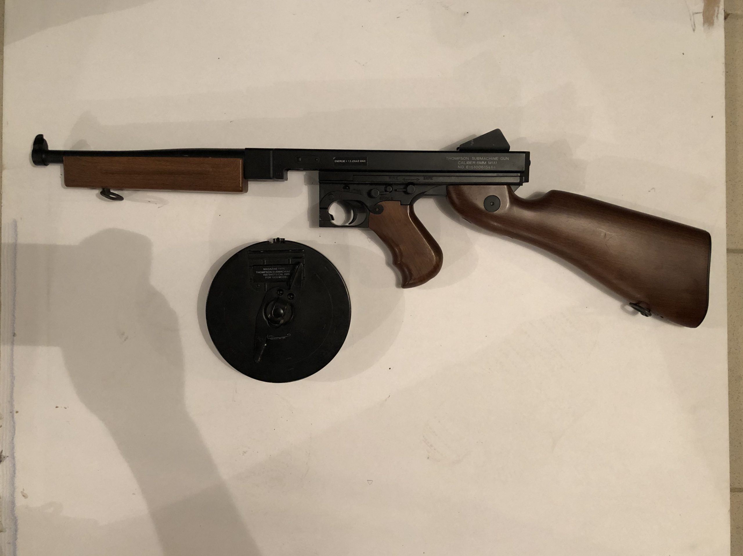 THOMPSON M1A1 FULL METAL KING ARMS