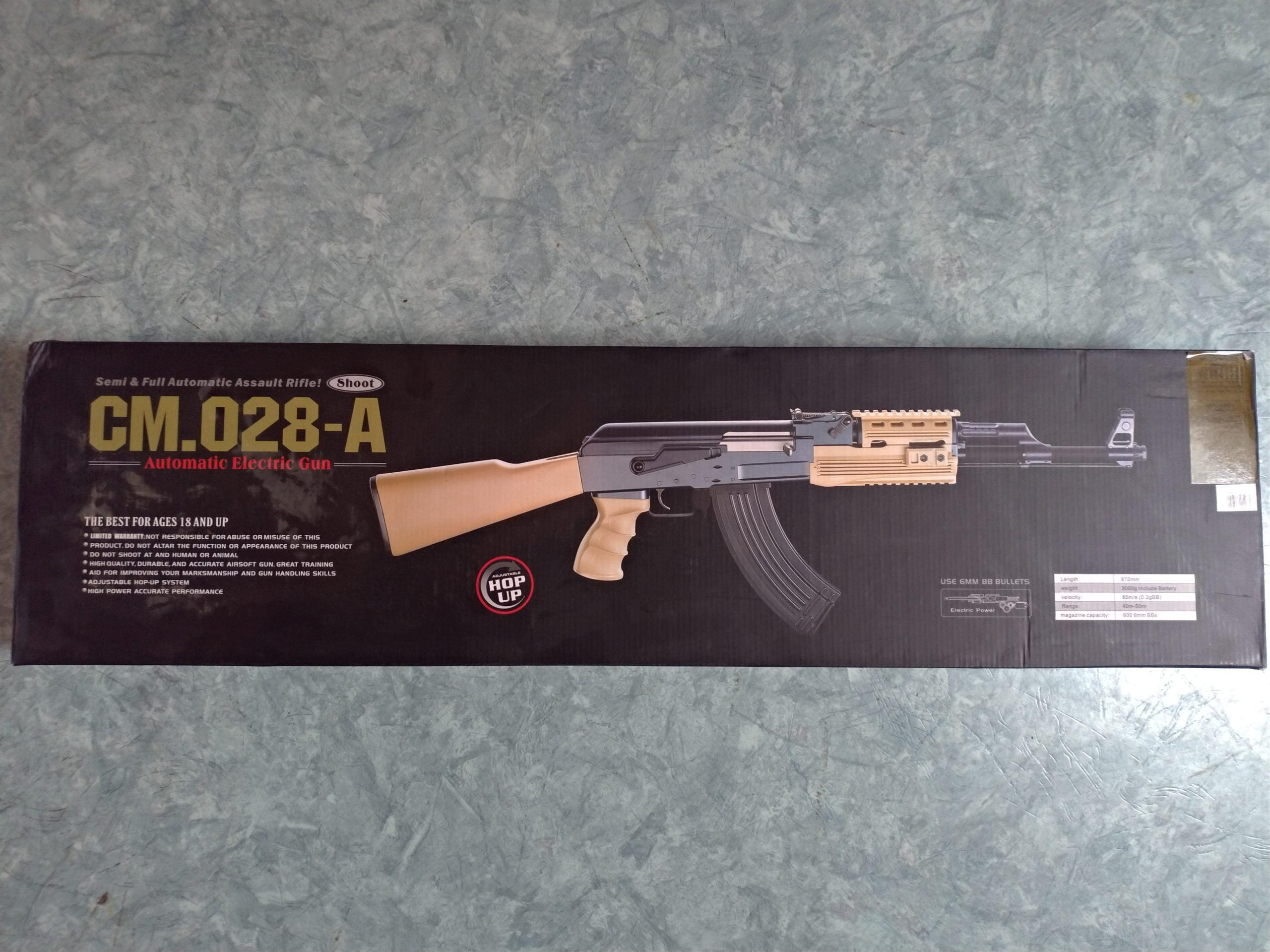 Replique Ak-47 Tactical