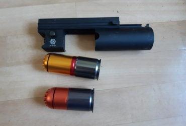 Lance grenade compact avec 2 grenades HP