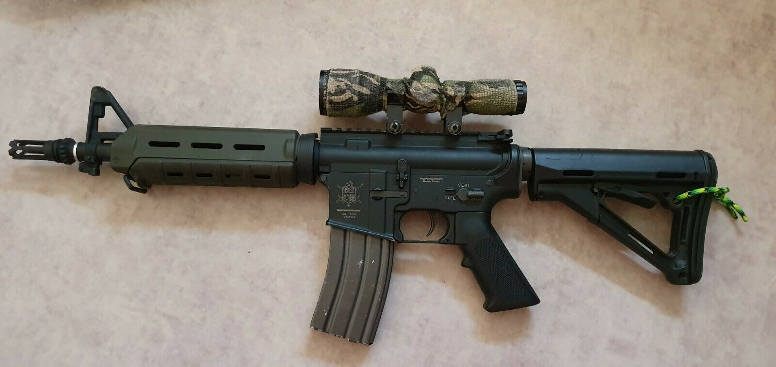 M4 VFC AEG + 1 Li Po Neuve + Housse