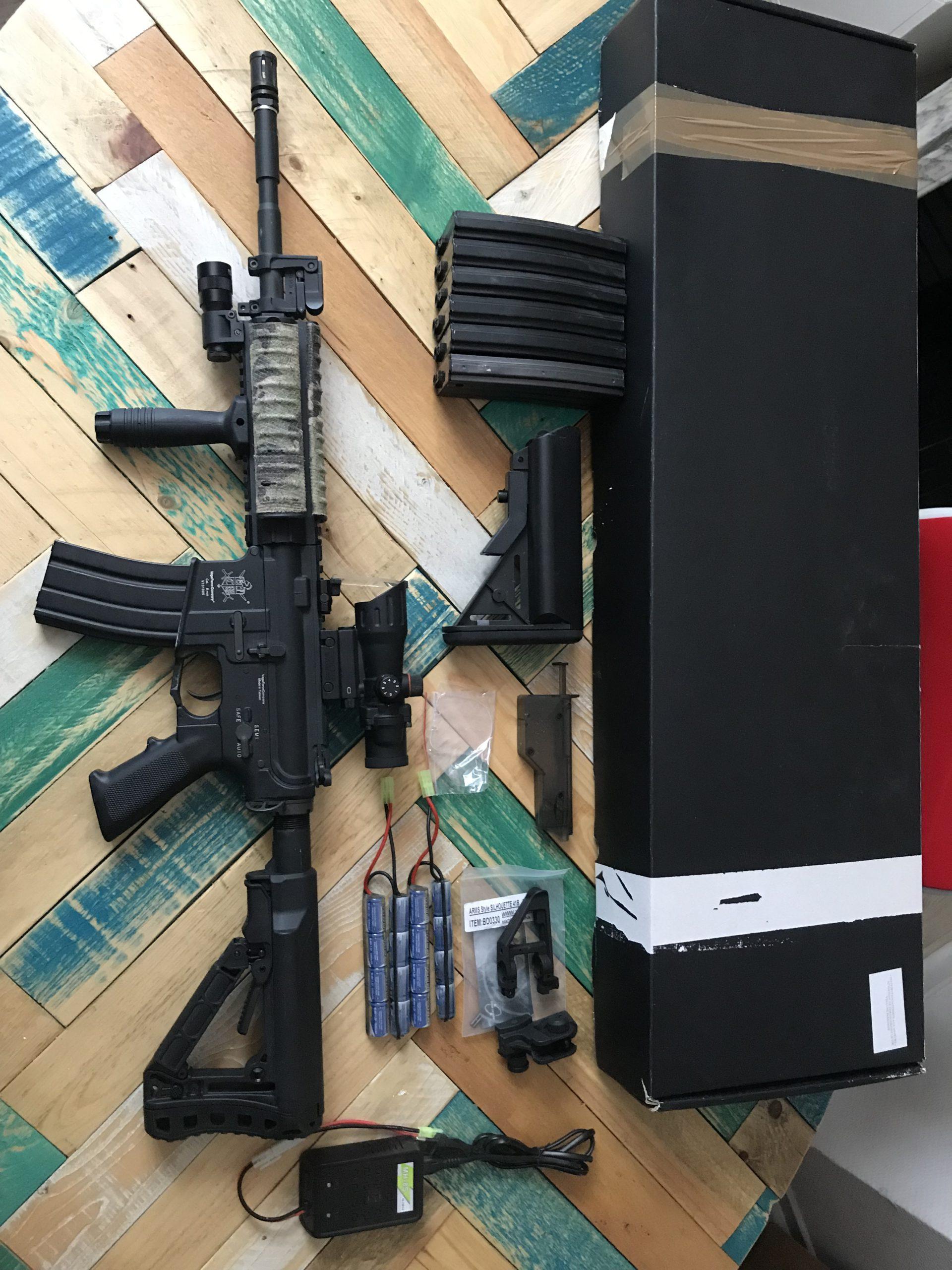 Réplique M4 VFC e-series figthers kit