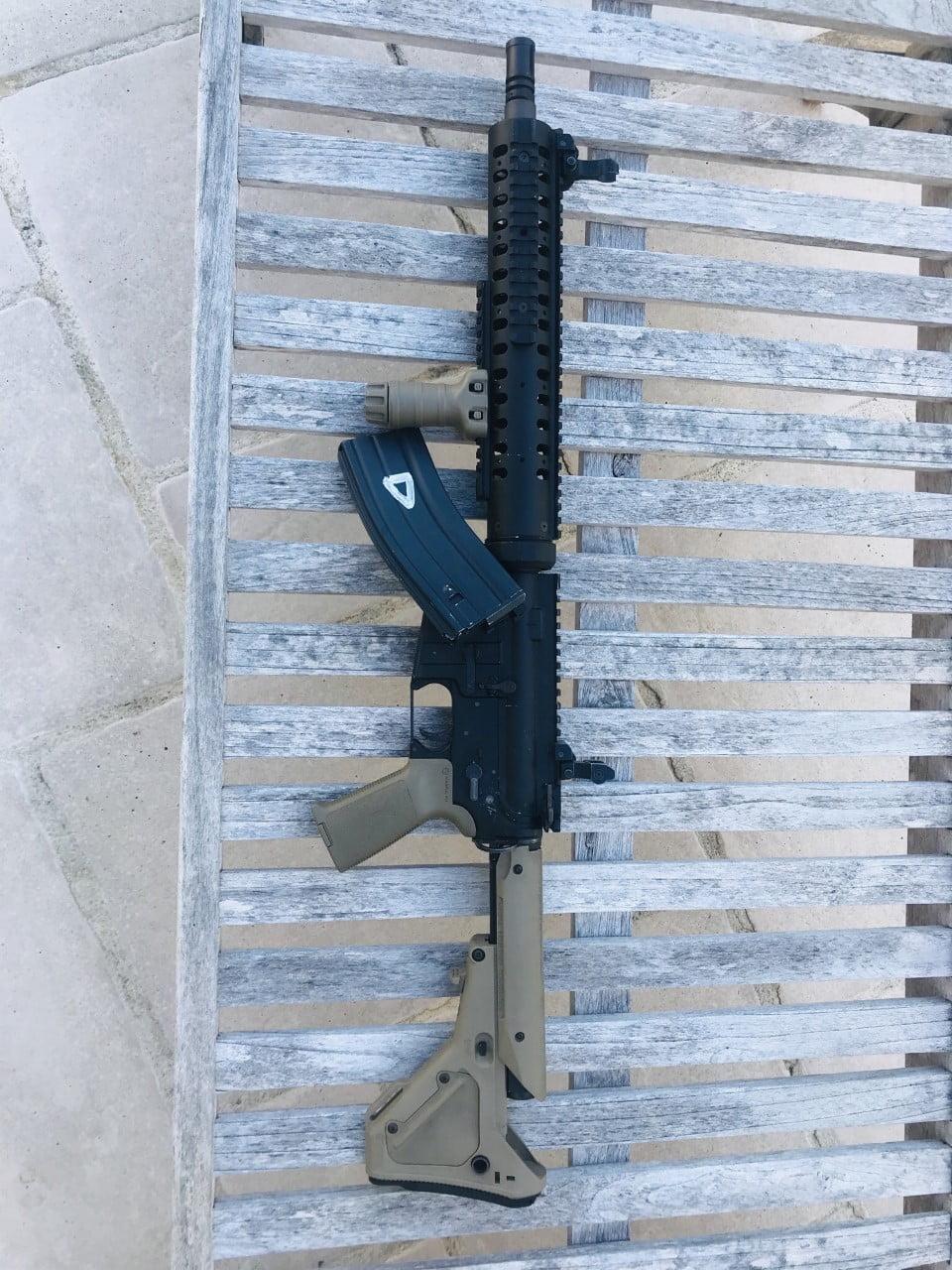 AR-15 WE 1ère Gen GBBR  (RARE)