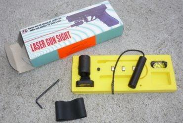 Système de visée laser point rouge