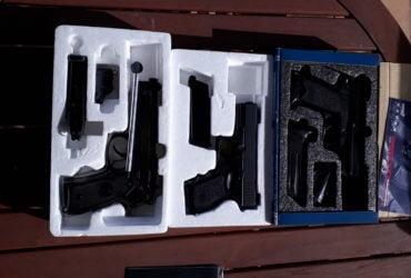 USP Compact, Glock 23 et Beretta M9
