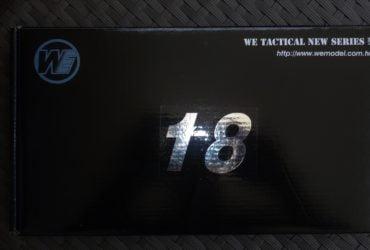 WE 18 C Tactical  Black