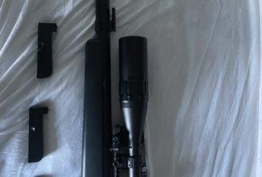 vend VSR -10 G-SPEC Tokyo Marui avec kit Wolverine avec mallette et 3 chargeurs