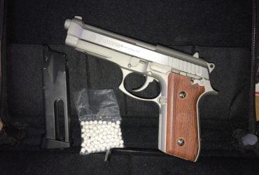 Pistolet à gaz Taurus + bonbonnes de CO2