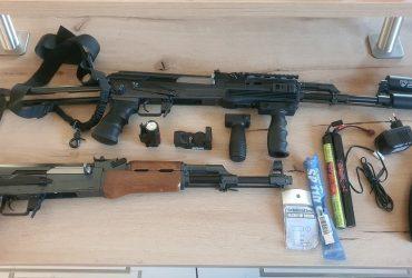 AK47-S Tokyo Marui AEG 300 FPS + carcasse Cybergun AK47