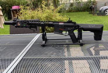 "Réplique M4 Octarms X Amoeba 16"" ARES  SHS"