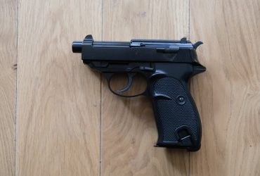 Walther P38 WE canon court + silencieux,  GBB