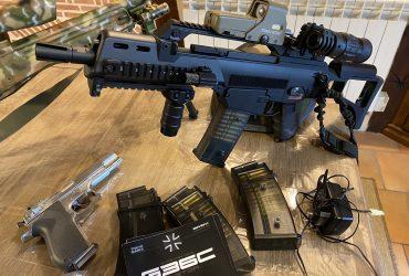 G36C custom Next Gen Tokyo maure AEG electric blowback